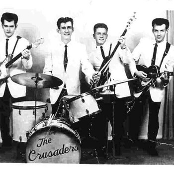 Boys in The  Band Group 1960's. Gotta love that hair !