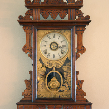E.N. Welch Eclipse Wall Clock | c.1889