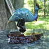 Australian Hand Blown Cassowary Figure