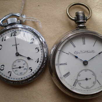 Elgin,Waltham. - Pocket Watches