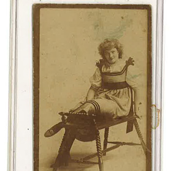 Congress Cut Tobacco Card - Cards