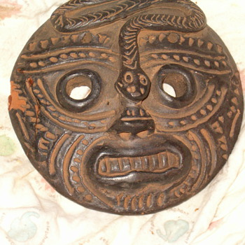 Mayan/Aztec necklace Mask?  - Native American