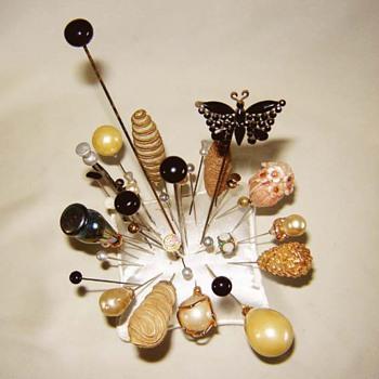 Victorian & Vintage Hat Pins