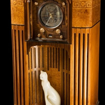 1935 Zenith 1000 Z Stratosphere radio