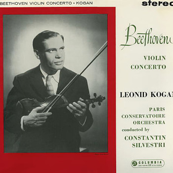 Columbia SAX 2386 - Beethoven - Violin Concerto - Leonid Kogan 