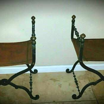 Savonarola curule chairs 17th century type - Furniture
