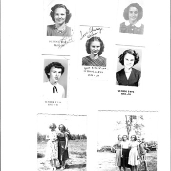 1948 -51 School Photos
