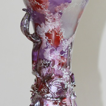 Unknown Artist - Japanese Glass Vase - Art Glass