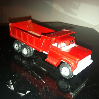 Rare Mercury or Mcer lit'l toy (Iltalian made I believe) Chevrolet Dump - Model Cars