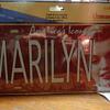 Marilyn Monroe Americas Icon 12-x-6 Metal Sign License Plate