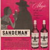 1954 Sandeman Advertisement