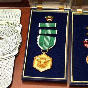 My Dads war medals, WWII, Korea, Vietnam - Military and Wartime
