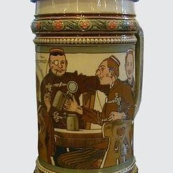 Beer Stein Mettlach 2051 - Breweriana