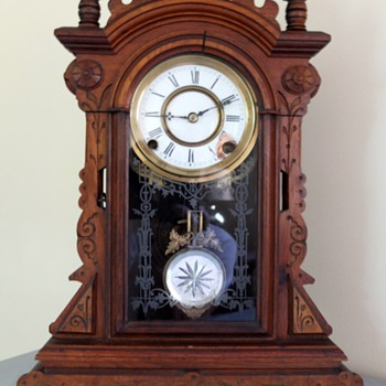 Antique Kitchen Clock - Clocks