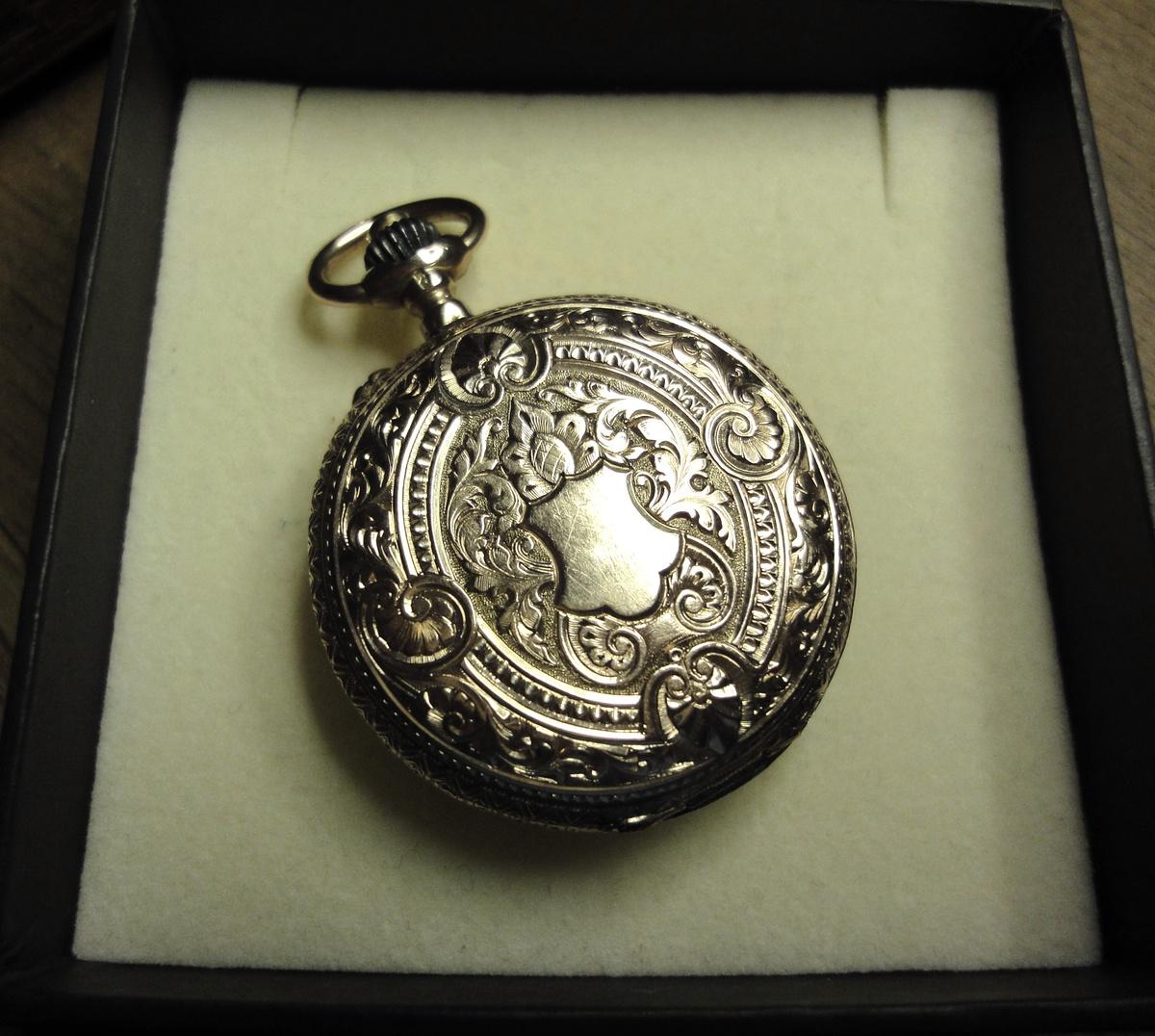 antique hungarian gold pocket 14k collectors