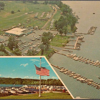 Brunelle's Marina Picture Postcard