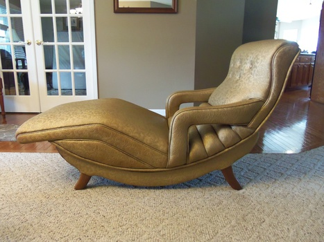 Reupholster Chaise Lounge Chair