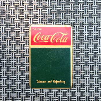 Another Unusual Coca-Cola Sign - Coca-Cola
