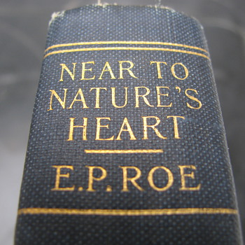 1876 Book by E.P. Roe - Books