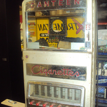 My 1954 Canteen Cigarette Machine