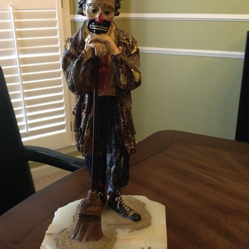 Emmett Kelly Jr. Clown - Figurines