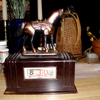 Pennwood Chieftain with Horse, 50's, Model #100 - Art Deco