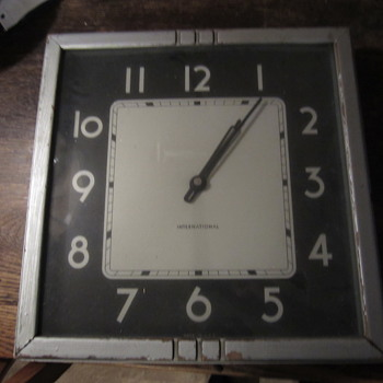 International Wall Clock