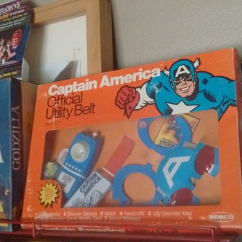 1970's Captain America Utility Belt !!!