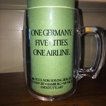 Delta Airlines Mug - Advertising