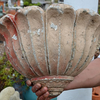 Cast Stone Planter / Sconce? - Art Pottery