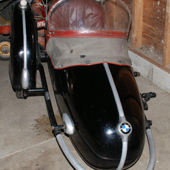 1956 bmw steib s250 SIDECAR - Motorcycles
