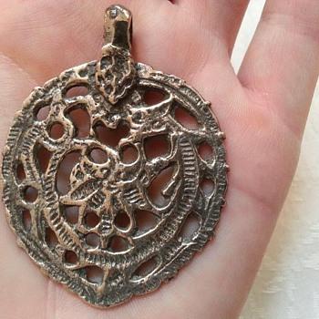 My Roman Pendant -Silver 1-4 BC