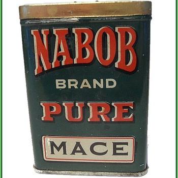 Vintage NABOB TIN - Spice Tin - Canada