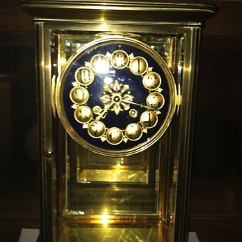 Cristal regulator clock