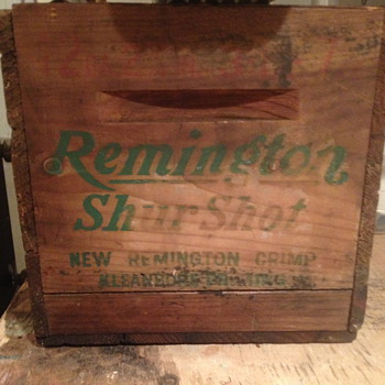 Remington Box - Advertising