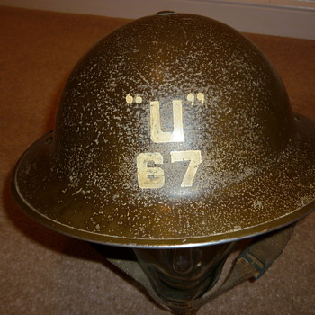WW11 Landing Craft crew helmet? - Military and Wartime