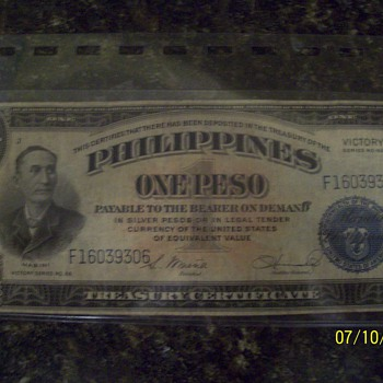 1922 papper money