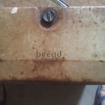 My parents 1957 Wedding Gift, a Havell Breadbox - Kitchen
