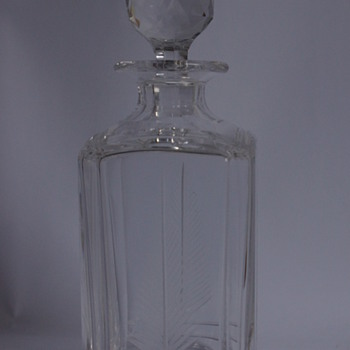 Stuart Crystal Woodchester Spirit Decanter - Art Glass