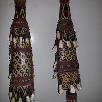 CEREMONIAL TRIBAL SPEARS!!!