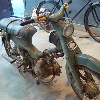 C102  1963 Honda Super Cub 50... Work in progress - Motorcycles