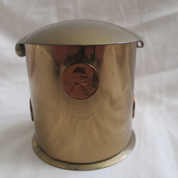 Brass Penny Bank?