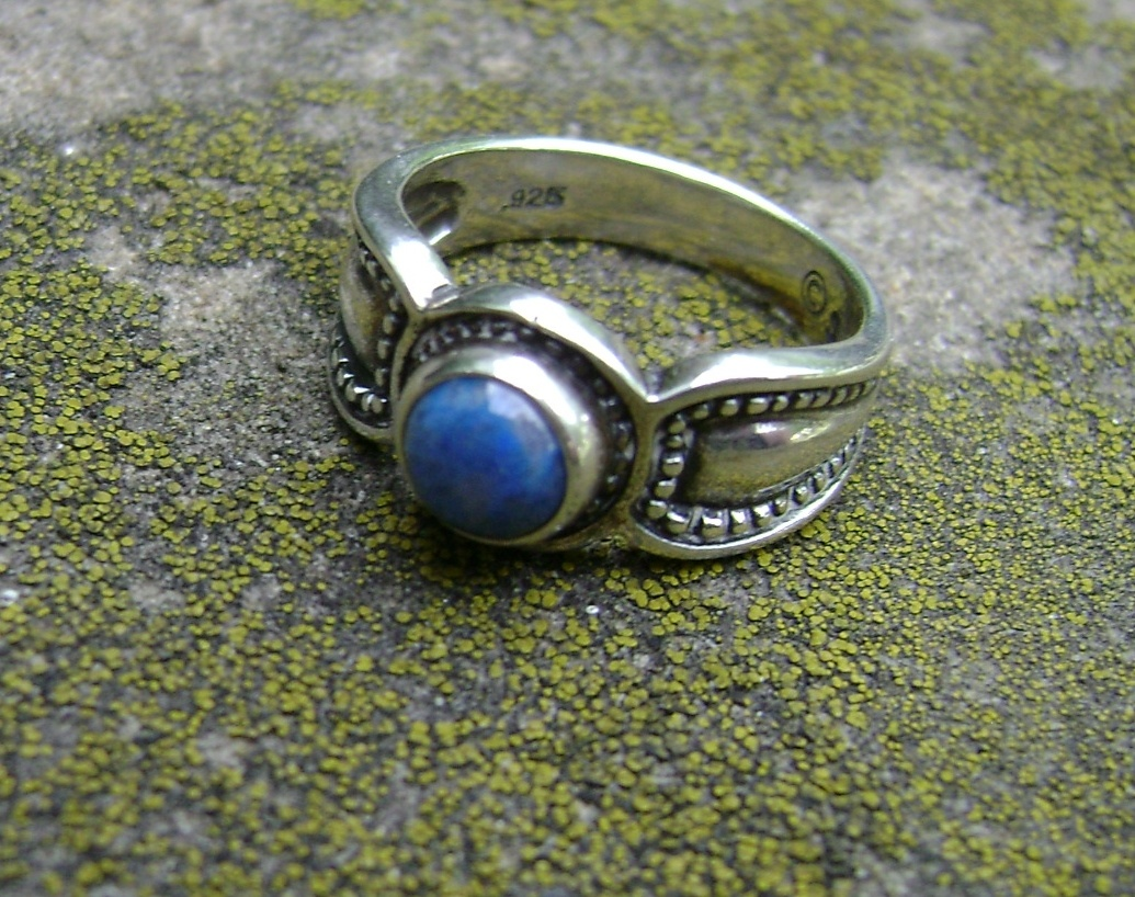 lapis silver ring collectors weekly