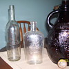 emile gluck bottle ,1940 or before brown jug