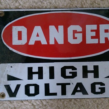 danger high voltage - Signs