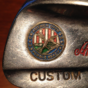 'American Open Pebble Beach' golf club Iron, blades 4-9