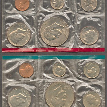 1977 - U.S. Mint Coins Set