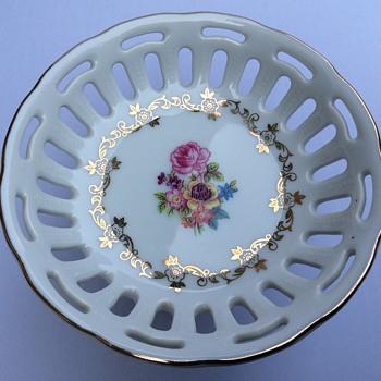 Pedestal dish - China and Dinnerware