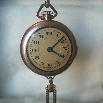 great gold watch but unknown mfg. - Pocket Watches