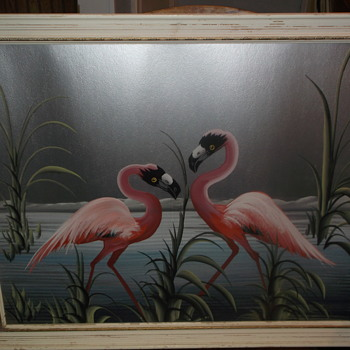 My auction find a M Devoe painting. - Visual Art
